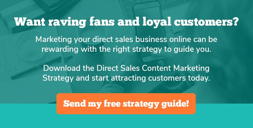 attract new customers to your direct sales business using the power