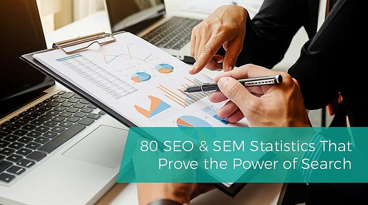 80 SEO & SEM Statistics That Prove the Power of Search