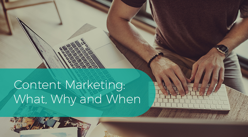 Content Marketing What, Why and When
