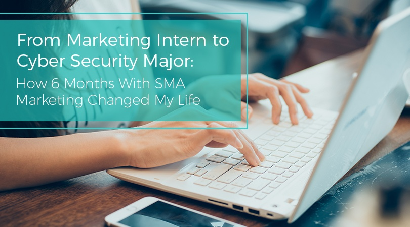 From Marketing Intern to Cyber Security Major