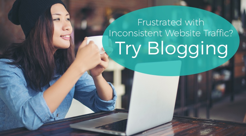 Frustrated with Inconsistent Website Traffic Try Blogging
