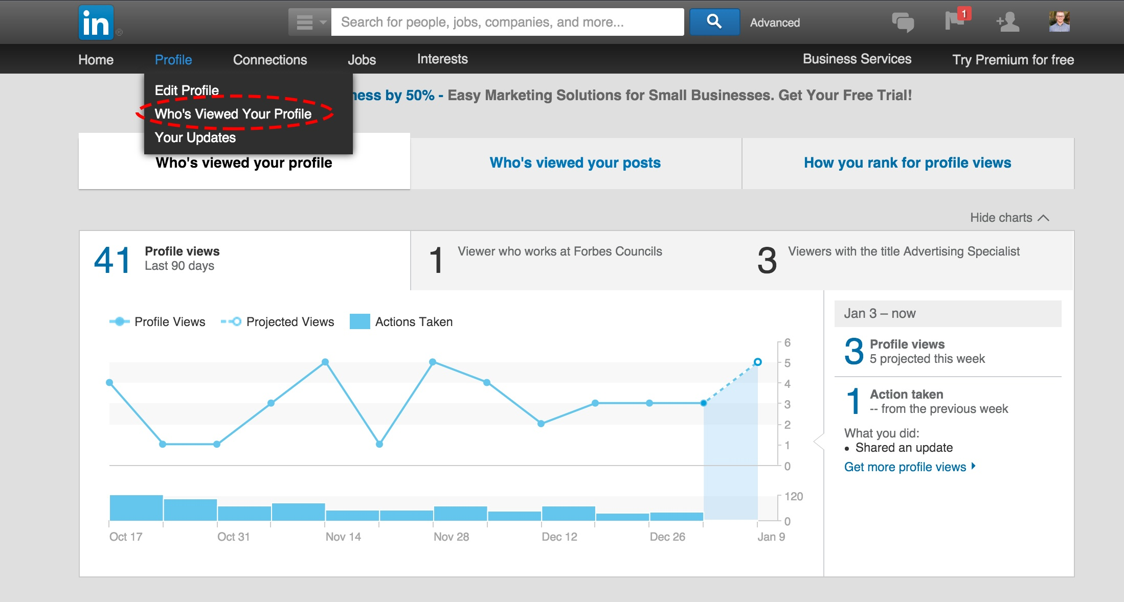 how to make a business page in linkedin