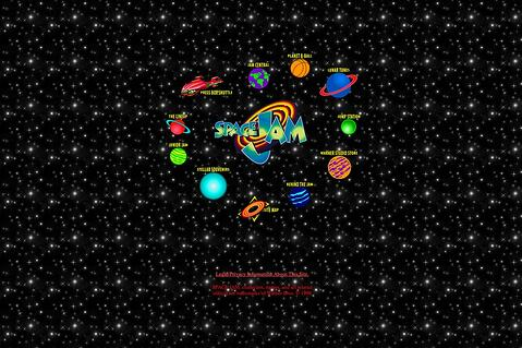 SpaceJam Website