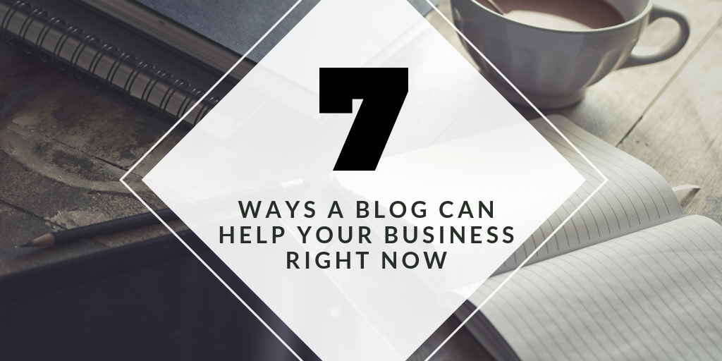 Ways a Blog Can Help Your Business Right Now