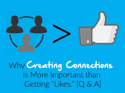 creating connections using social media