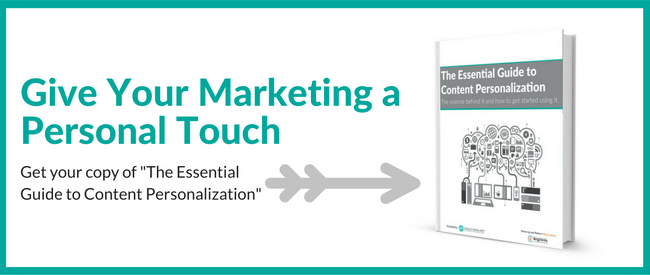 Give your marketing a personal touch